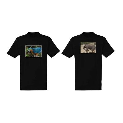 Potisk dětského černého trička