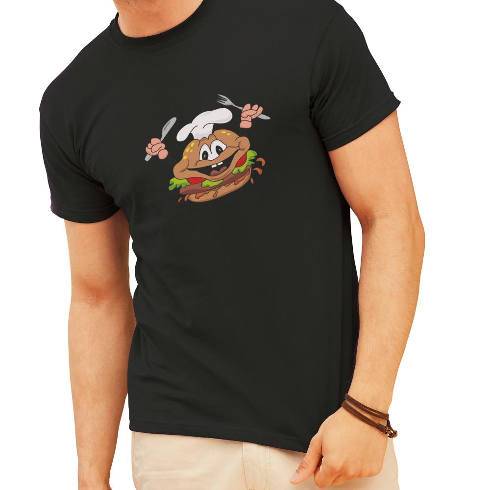 Potisk černého pánského trička