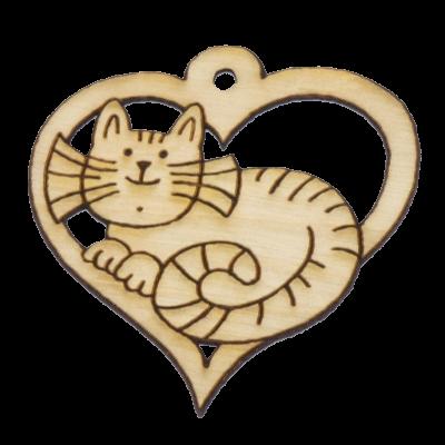 Kočka - srdce