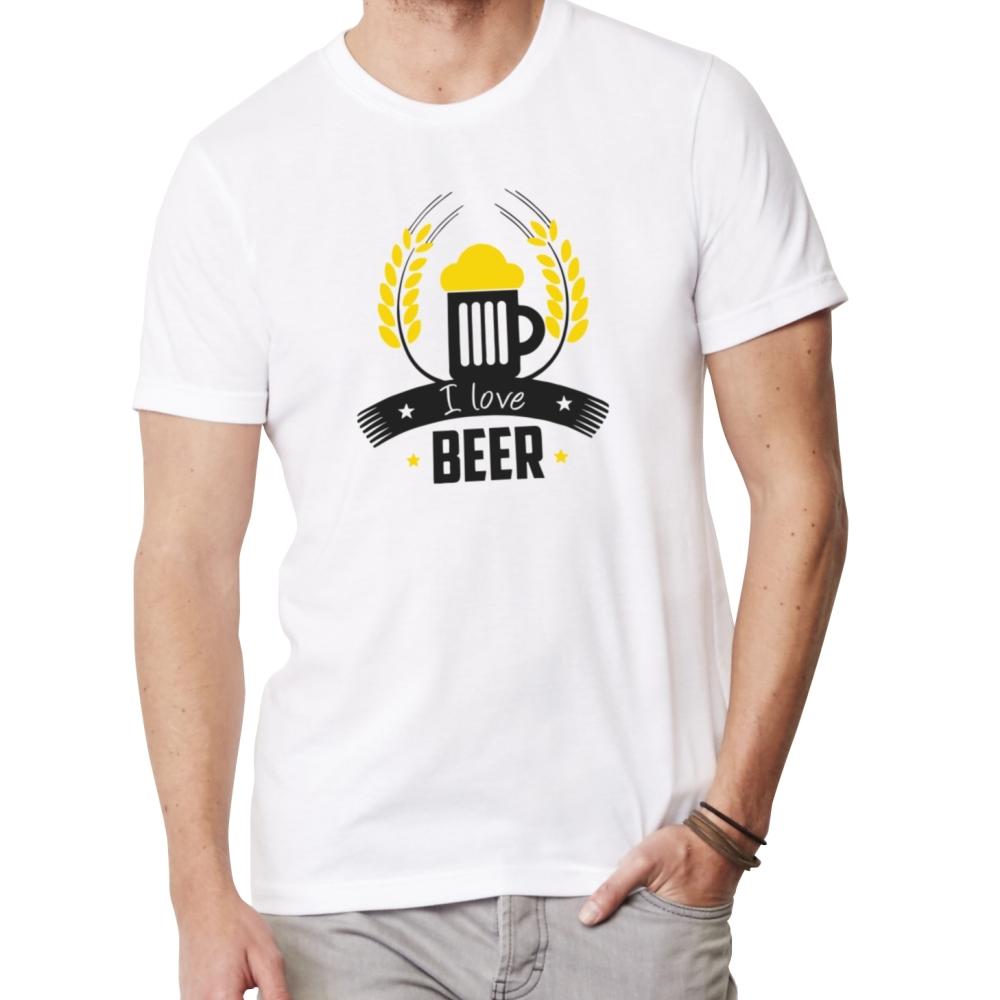 9333b97af188 Vtipné tričko - I love beer