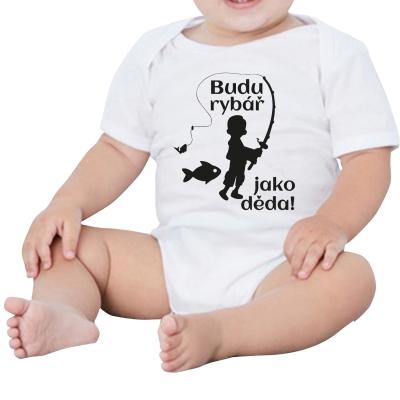 Dětské body s potiskem Budu...