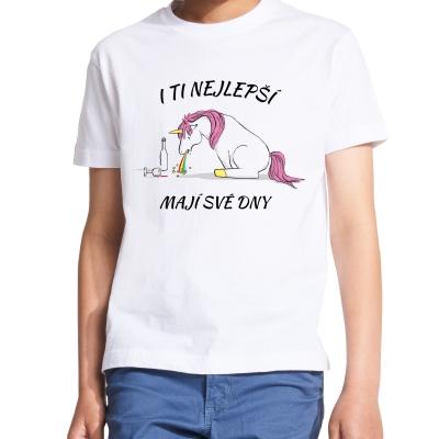 Dětské bílé tričko I ti...