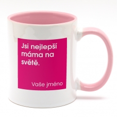 Hrnek Jsi nejlepší máma na...