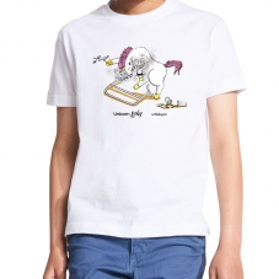 Dětské bílé tričko s...