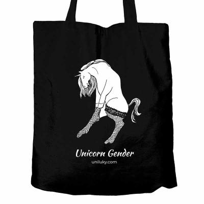 Černá taška Unicorn Gender