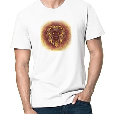 Pánské bílé tričko...