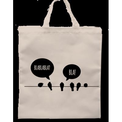 Plátěná taška Ptáčci