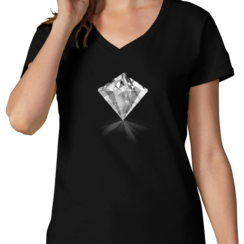 7e0b9e90ee74 Dámské černé tričko s vaším potiskem