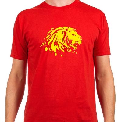 Pánské tričko s potiskem Lev