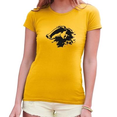 Dámské tričko s potiskem Jezevec