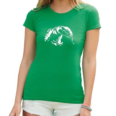 Dámské tričko s potiskem Had