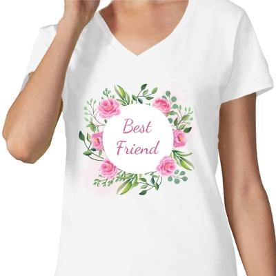 Bílé tričko s potiskem Best...