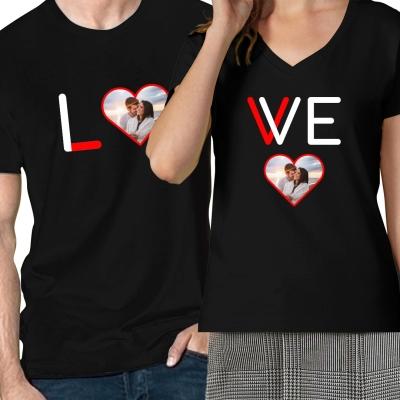 párové tričko love