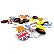 Placky, butony, odznaky